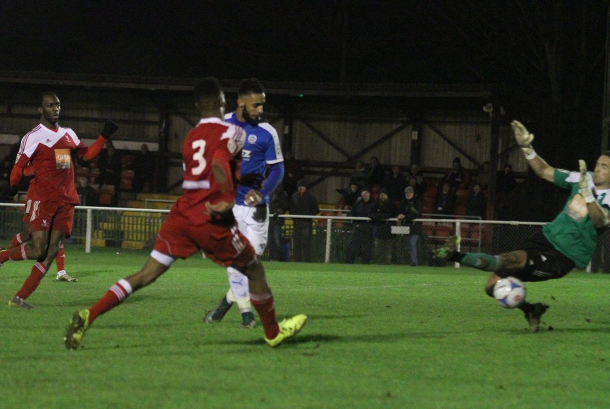 FA TROPHY: SOUTHPORT OR WORCESTER AT HOME