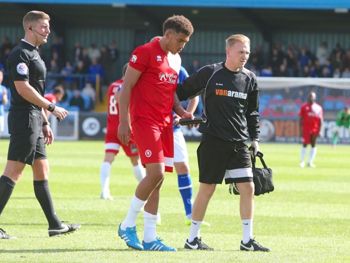 WHITES BRING IN NEW PHYSIO