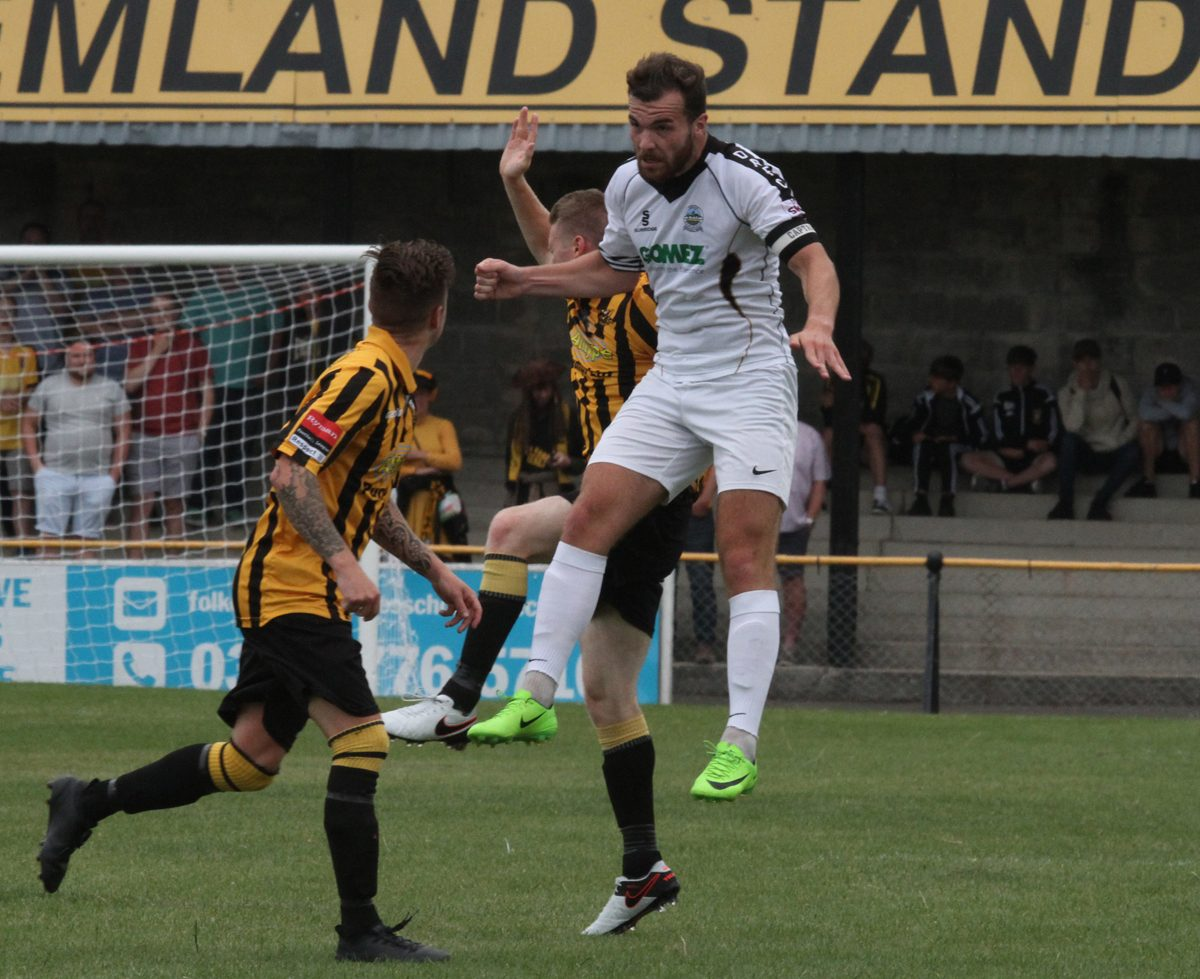 WHITES BATTLE BACK TO DRAW WITH FOLKESTONE