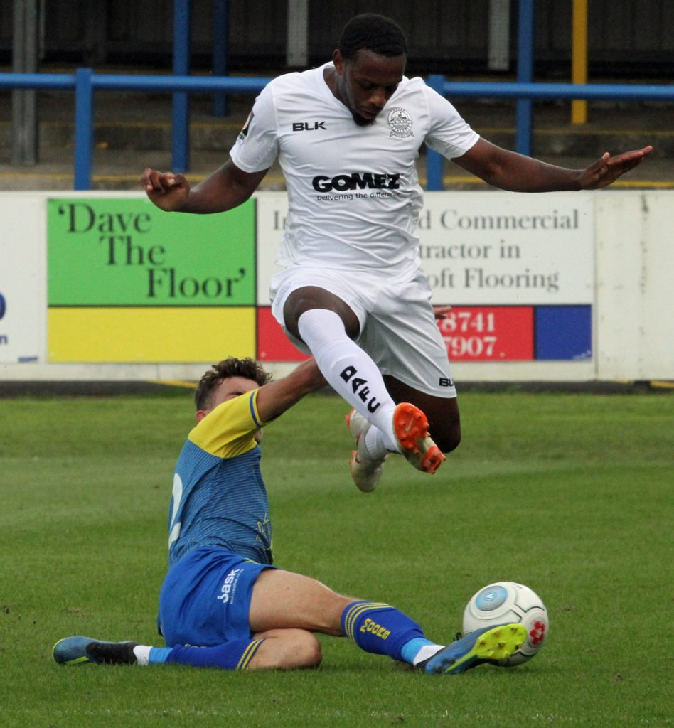 HIGHLIGHTS:  DOVER 0-2 SOLIHULL