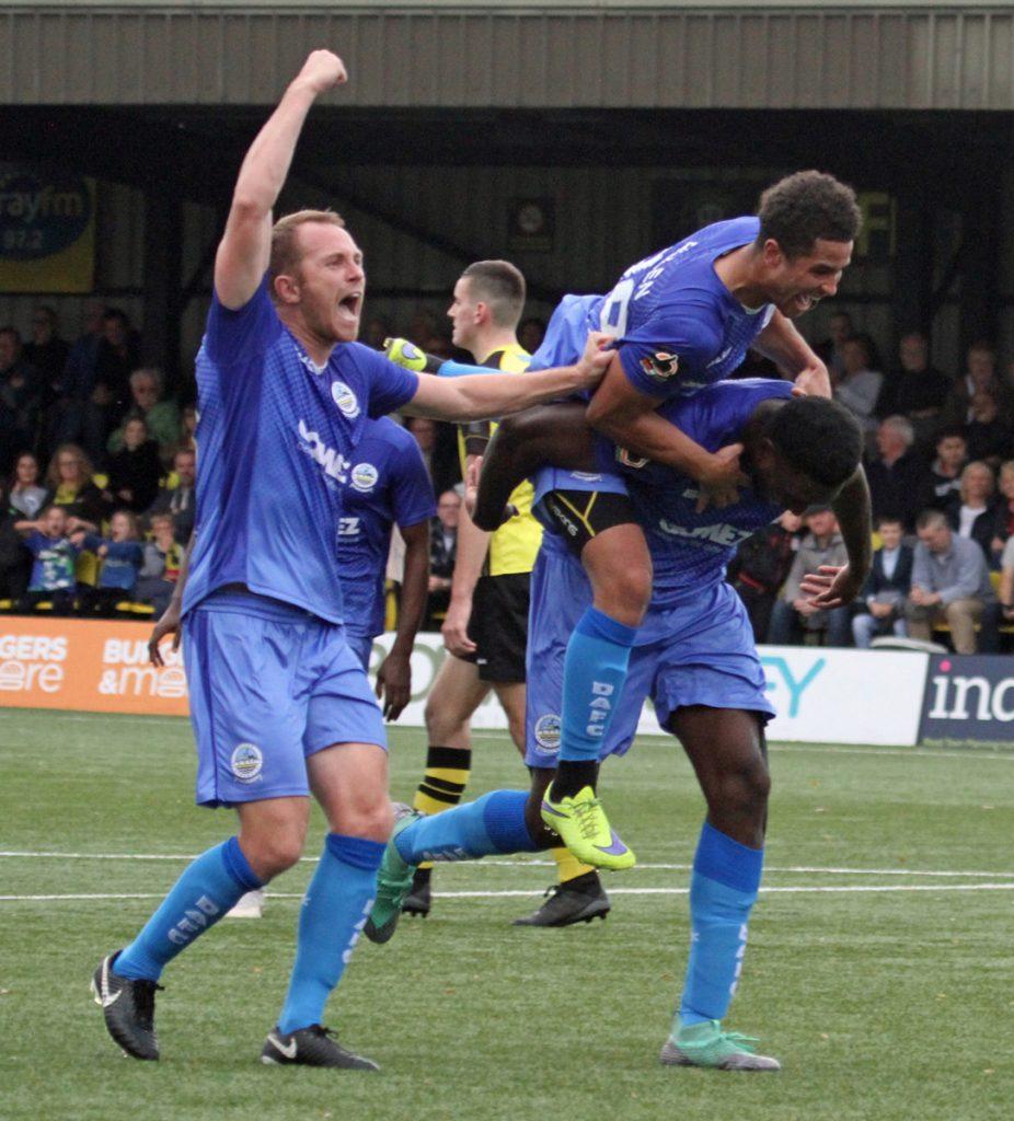 REPORT:  Harrogate 2-2 Dover
