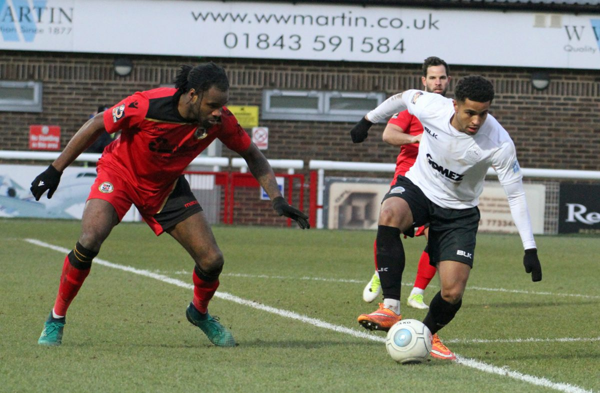 MATCH HIGHLIGHTS:  DOVER 1-1 BROMLEY