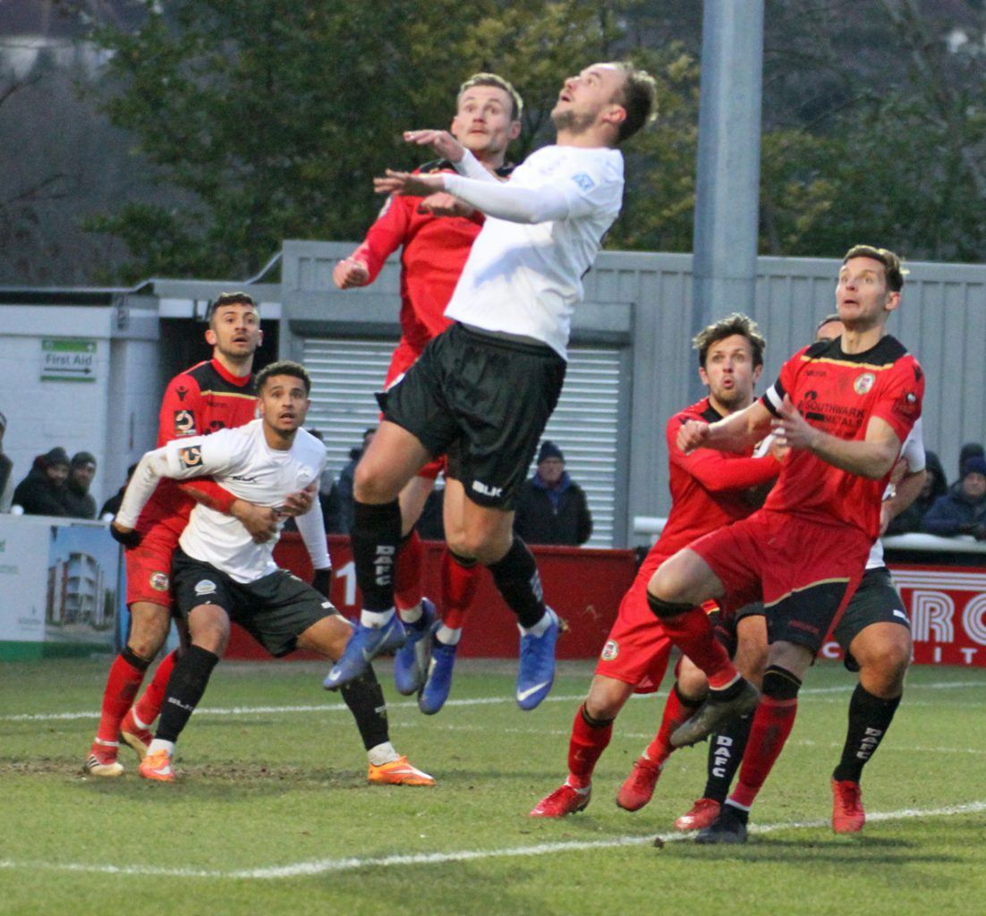 REPORT:  DOVER 1-1 BROMLEY