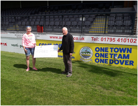 SUPPORTERS' CLUB RAISE FUNDS FOR WHITES