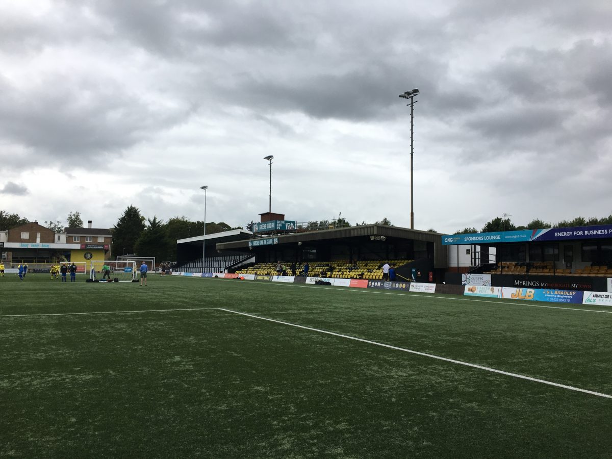 REPORT:  HARROGATE TOWN 0-2 WHITES