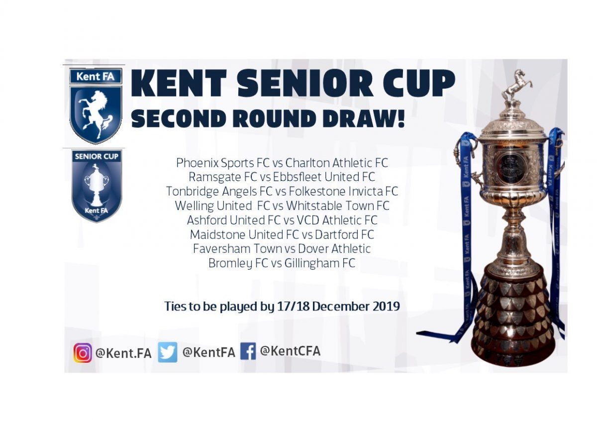 WHITES TO TRAVEL TO FAVERSHAM IN KENT CUP