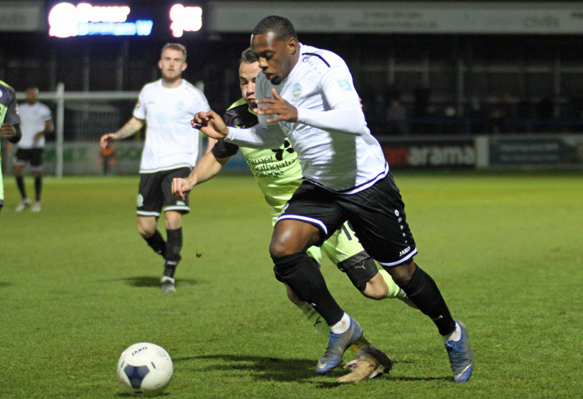 MATCH HIGHLIGHTS:  DOVER 0-2 BOREHAM WOOD