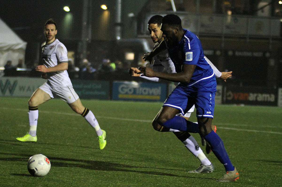 REPORT:  BROMLEY 3-0 WHITES