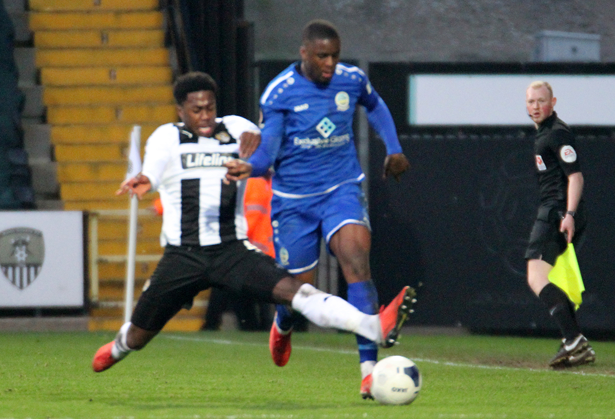 REPORT:  NOTTS COUNTY 0-0 DOVER