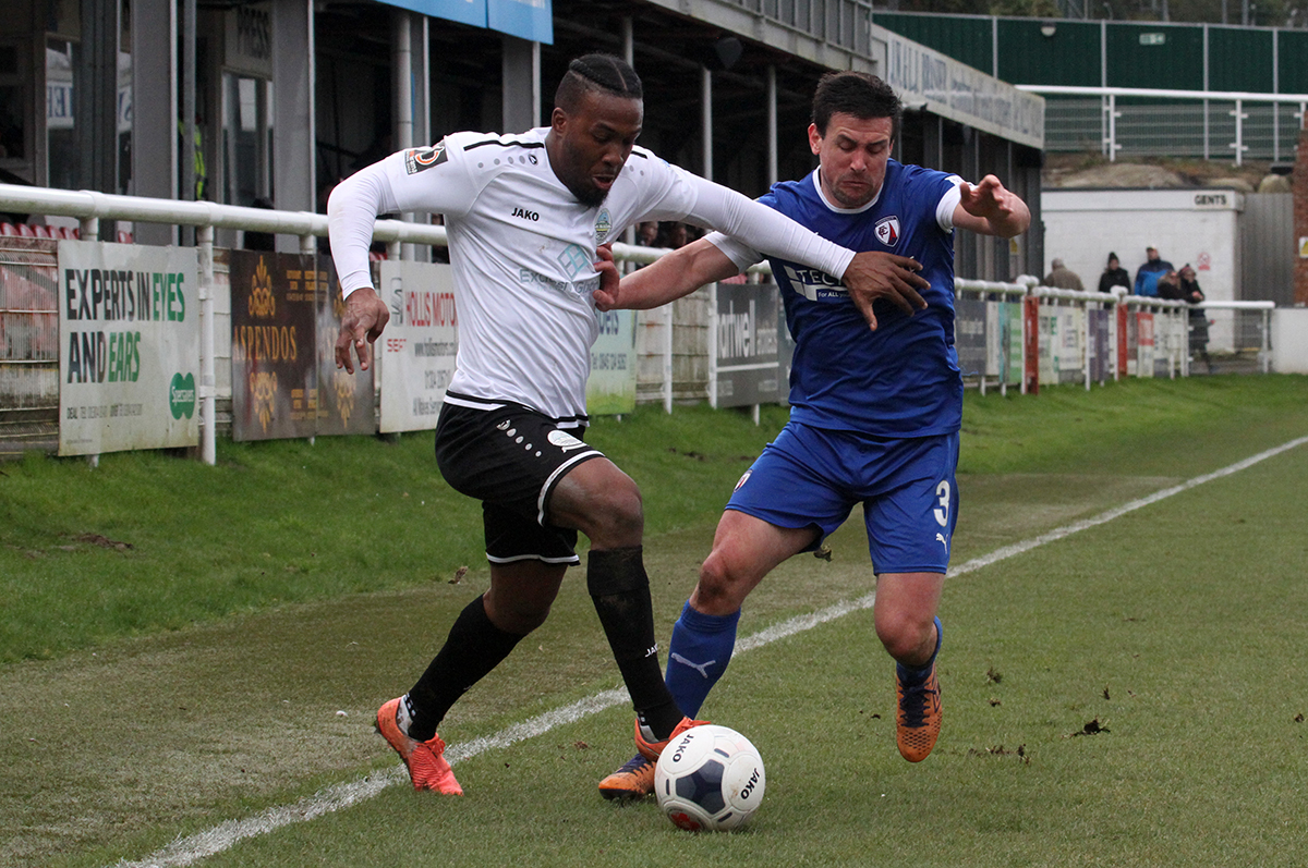 MATCH HIGHLIGHTS:  DOVER 1-1 CHESTERFIELD