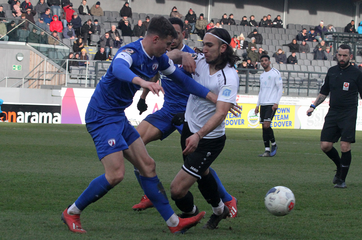 REPORT:  DOVER 1-1 CHESTERFIELD