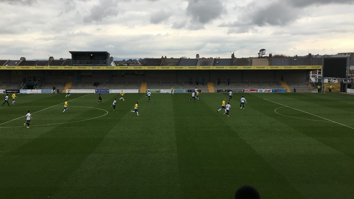 MATCH REPORT:  TORQUAY 2-0 DOVER