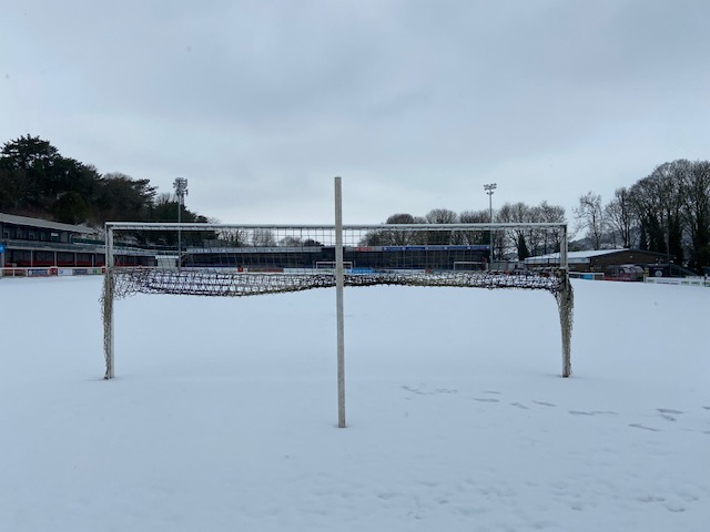 GAME OFF DUE TO SNOW