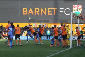 2018-12-22 BarnetA 23 goalmouth