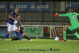 2016-08-16 Eastleigh 2-4 DAFC