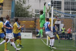 2016-08-27 TorquayA 03 goalmouth
