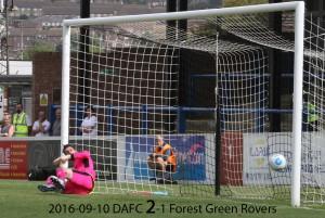 2016-09-10 DAFC 2-1 Forest Green
