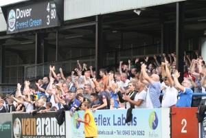 DAFC v Forest Green Rovers 10/09/2016