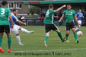 2016-10-15 Burgess Hill 0-1 DAFC (FAC)