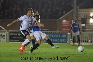 2016-10-25 Bromley 0-1 DAFC