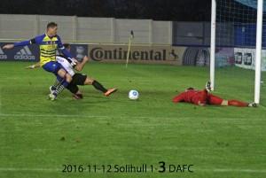 2016-11-12 Solihull 1-3 DAFC