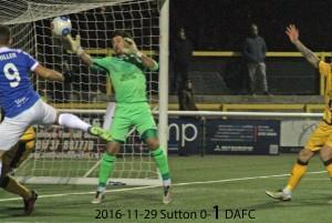 2016-11-29 Sutton 0-1 DAFC