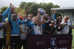 Kent Senior Cup Victory