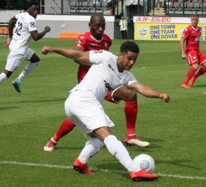 DAFC v Wrexham 04/08/18