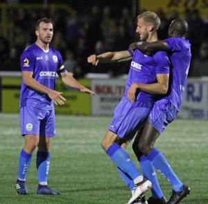 Sutton United v DAFC 25/09/18