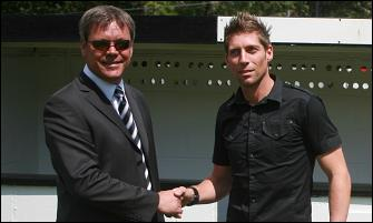 NICKY SIGNS FOR WHITES