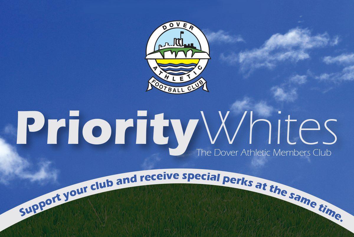 PRIORITY WHITES DEADLINE