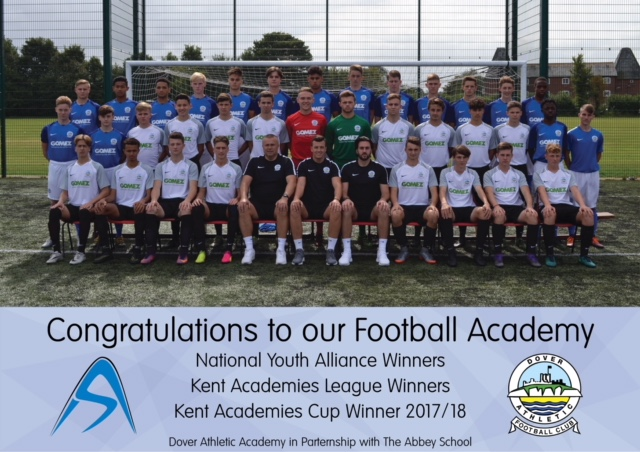 ACADEMY END SEASON IN STYLE