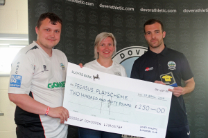 2018_19 End-of-Season Awards 09 Charity cheque
