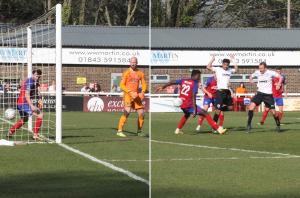 2019-04-19 AldershotH 47 Lewis goal