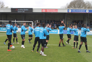 2019-04-27 SuttonH 01 Players applaud