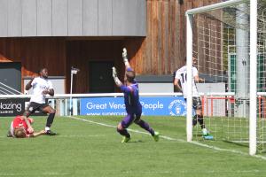 2021-07-24 FolkestoneH 12 goalmouth