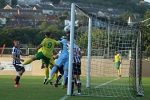 2016-07-26 MillwallH 09 goalmouth