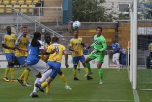 2016-08-27 TorquayA 01 goalmouth