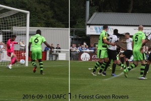 2016-09-10 DAFC 1-1 Forest Green