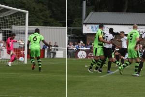 2016-09-10 ForestGreenH 04 Miller goal