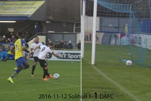 2016-11-12 Solihull 1-1 DAFC