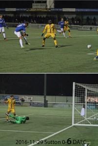 2016-11-29 Sutton 0-6 DAFC