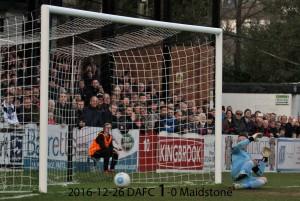 2016-12-26 DAFC 1-0 Maidstone