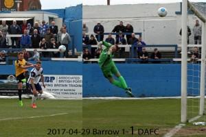 2017-04-29 Barrow 1-1 DAFC