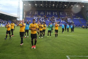 2017-09-02 TranmereA 71 players applaud
