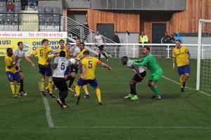 2017-10-21 MaidenheadH 21 goalmouth