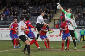 2018-01-06 AldershotH 12 goalmouth